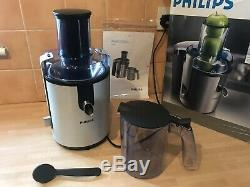 Superb Philips Hr1861 Whole Fruit Juicer / Juice Extractor