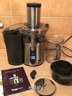 Superb Sage Nutri Whole Fruit Juicer Plus 5-speed Juice Food Blender Bje520