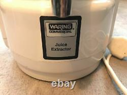 Superb Waring Commercial Juice Extractor 6001XK / Juicer. Very good condition