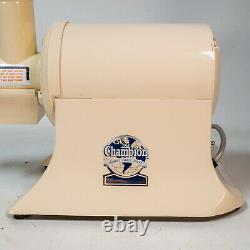 THE CHAMPION World's Finest Heavy Duty Juicer G5-NG-853S Clean USA Made