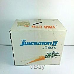 The Juiceman II Electric Juice Extractor Fruit & Vegetable Juicer