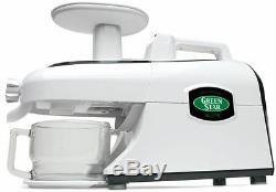 Tribest GSE-5000 Green Star Elite Wheatgrass & Fruit Juicer Food Processor NEW