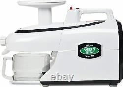 Tribest GSE-5000 Green Star Elite Wheatgrass & Fruit Juicer Food Processor White