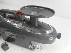 Tribest GS-P502 Jumbo Twin Gear Greenstar Pro Heavy Duty Juice Extractor, Gray