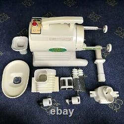 Tribest Green Star Juicer GS1000 Twin Gear Juice Extractor Vegetable & Fruits