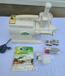 Tribest / Green Star Twin Gear Juicer Gs-3000 Fruit & Vegetable Juicer