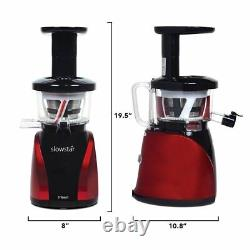 Tribest SW-2000 SlowStar Low Speed Vertical Juicer with Mincer & Juice Cap