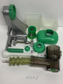 Tribest Z-Star Manual Cold Press Juicer Extractor Wheatgrass & Fruit Looks New
