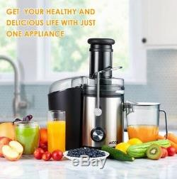 Updated juicer 1000W Powerful and Efficient Whole Fruit Juicer