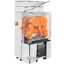 VEVOR Commercial Electric Orange Squeezer Juice Fruit Maker Juicer Press Machine