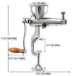 VEVOR Manual Wheatgrass Juicer, Wheat Grass Grinder 304 SUS Wheatgrass Extractor