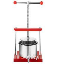 VEVOR Wine Presser Fruit Press for Wine Making 5.5L Fruit Tincture Press Machine