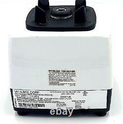 Vitamix Super 5000 Food Preparer Juicer Blender White Model VM0103 USA Working