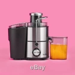 VonShef Juicer Machine, Fruit Juice Maker, Whole Extractor, Centrifugal