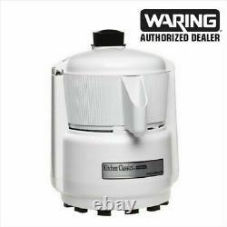 WARING PJE101 Juice Extractor Heavy Duty All White