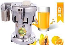 WF-A2000 550W 100-120kg/hr Commercial Fruit Power Juicer Juice Extractor 220V H