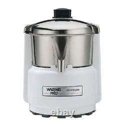 Waring PJE401 Fruit Vegetable Juice Extractor Genuine Full One Warranty 120 volt