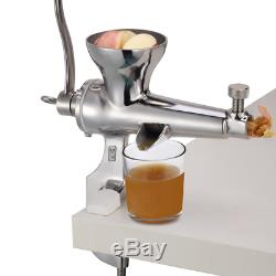 Wheatgrass Manual Juicer, DIY Superb Juice Extraction Home for Soft Fruit Heavy