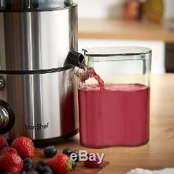 Whole Fruit Vegetable Stainless Steel Centrifugal Juice Extractor Juicer Machine