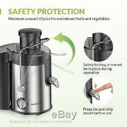 Whole Vegetable Extractor Fruit Juice Press Dual Juicer Machine Professional